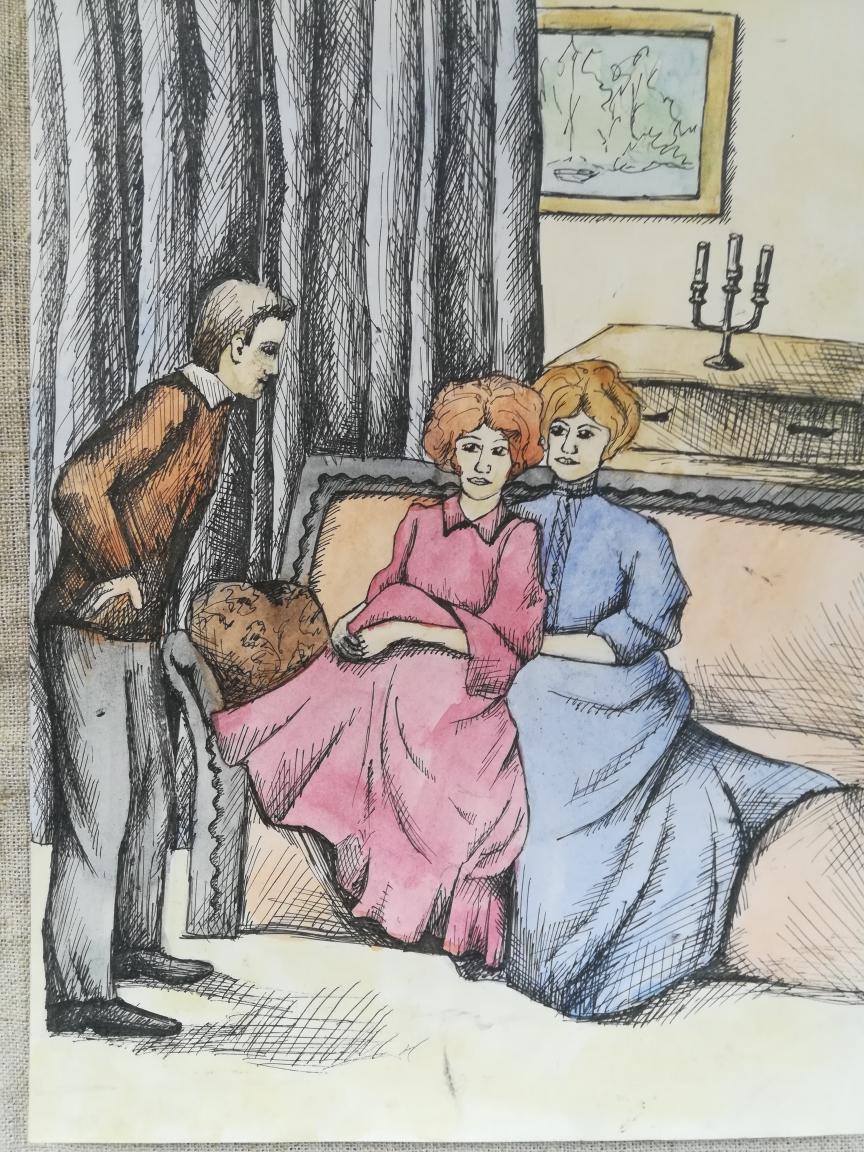 Иллюстрации к рассказам бунина о любви